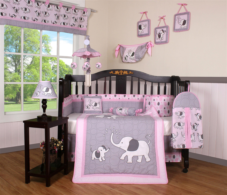 Geenny Elephant Dynasty Boutique 13 Piece Crib Bedding Set Reviews Wayfair