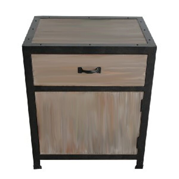 Henley End Table with Storage by 17 Stories