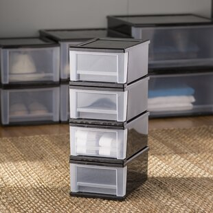 Best Choices Wayfair Basics Stackable Storage Drawers (Set of 4) By Wayfair Basics™