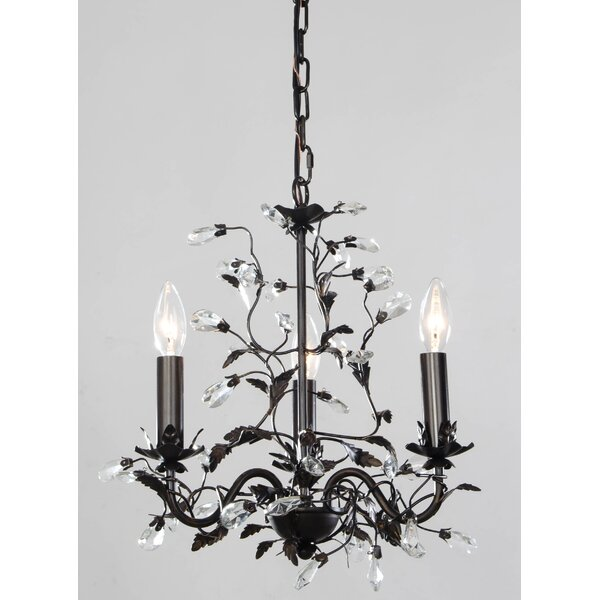 Maysville 3-Light Candle Style Classic / Traditional Chandelier By Ophelia & Co.
