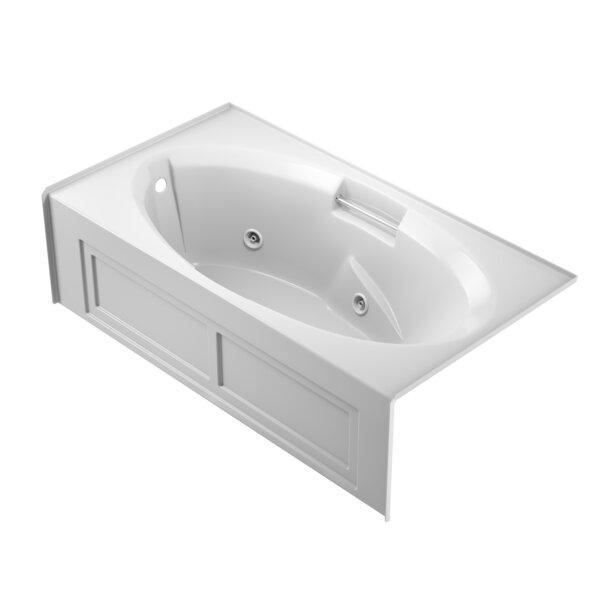 Nova Left-Hand Heater 72 x 36 Skirted Whirlpool Bathtub by Jacuzzi®