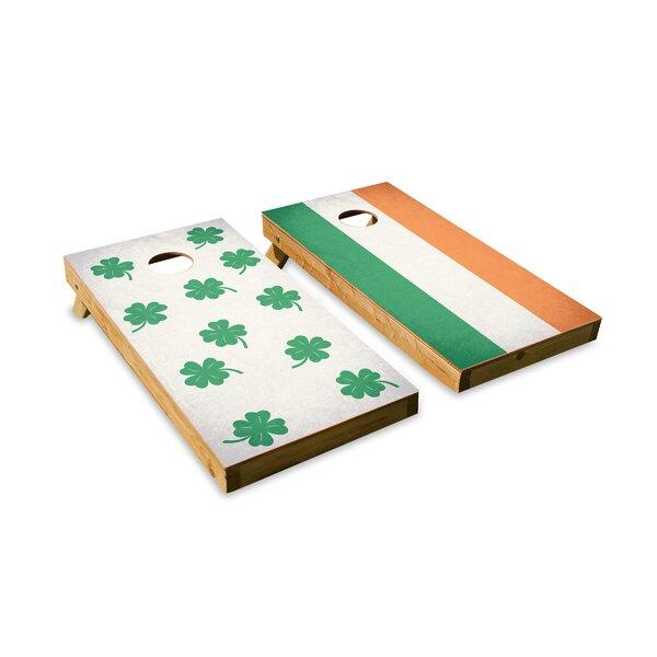 Luck O the Irish Cornhole Board by The Cornhole Crew
