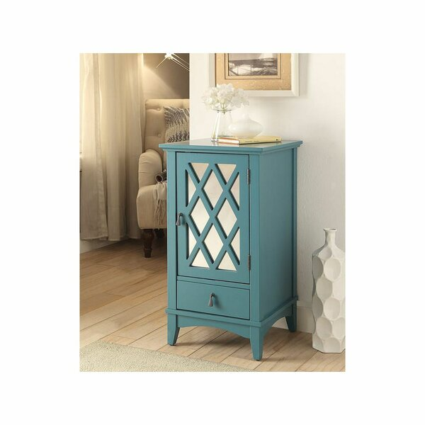 Shelbourne Doors Mirrored Accent Cabinet