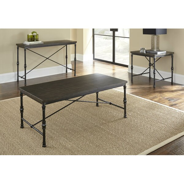 Sandrine 3 Piece Coffee Table Set by Williston Forge