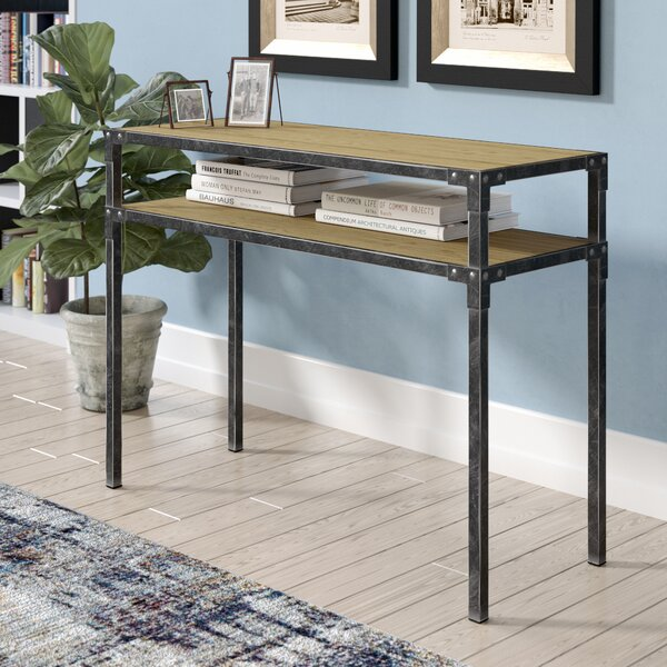Vox 2 Tier Console Table by Trent Austin Design