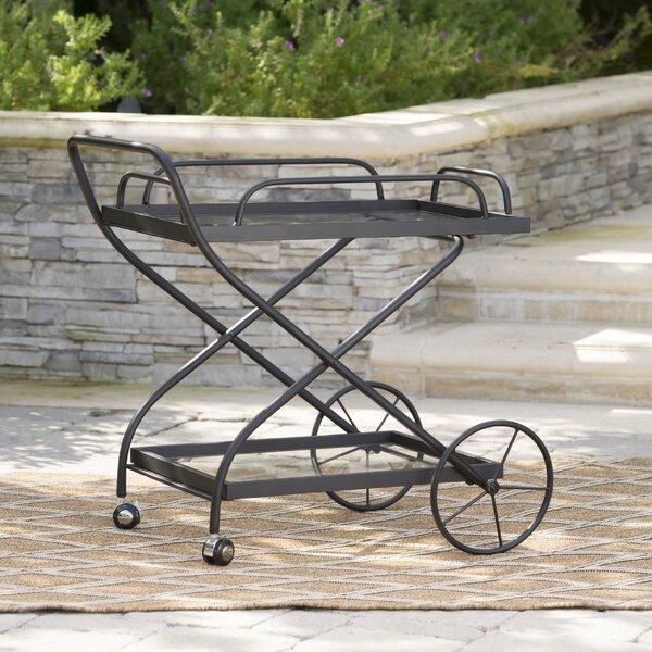 Polak Outdoor Bar Serving Cart by 17 Stories