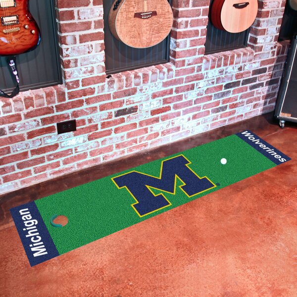 NCAA University of Michigan Putting Green Doormat by FANMATS