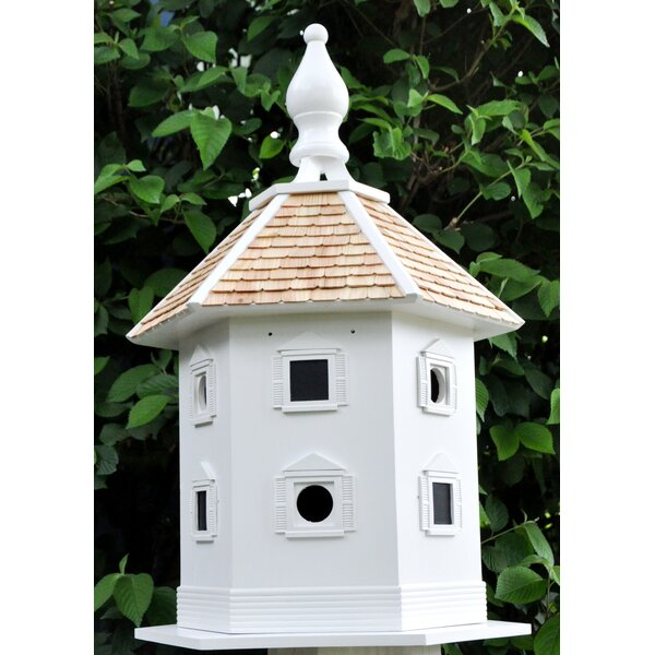 Signature Series Danbury DoveCote 30 in x 19 in x 17 in Purple Martin House by Home Bazaar