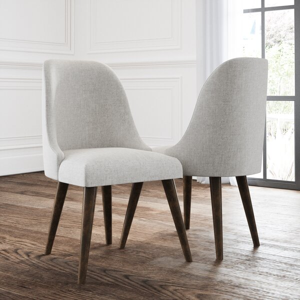 Greenwald Upholstered Dining Chair (Set of 2) by George Oliver