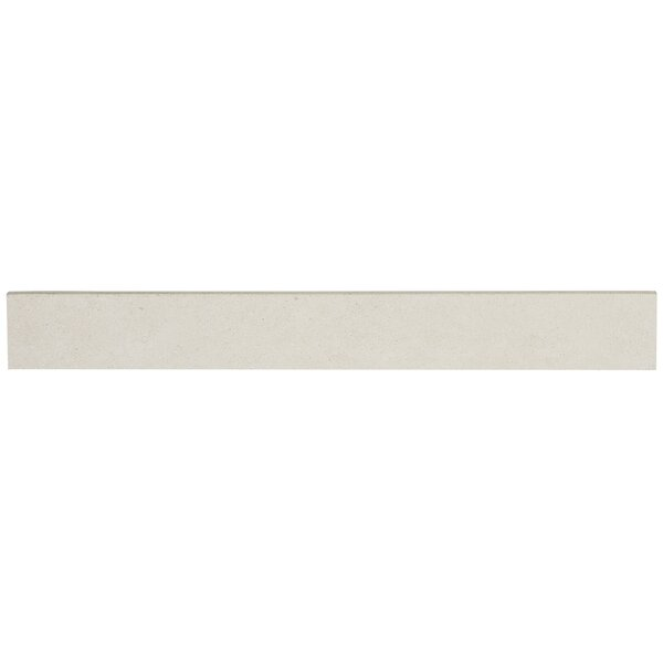 Haut Monde 24 x 3 Porcelain Bullnose Tile Trim in Nobility Cream by Daltile