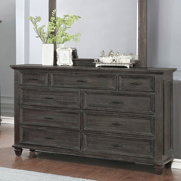 Kayli 9 Drawer Double Dresser by Gracie Oaks