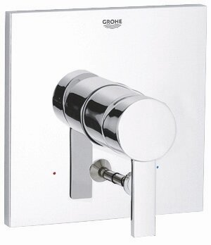 Allure Pressure Balance Diverter Valve Faucet Trim with Lever Handle by Grohe