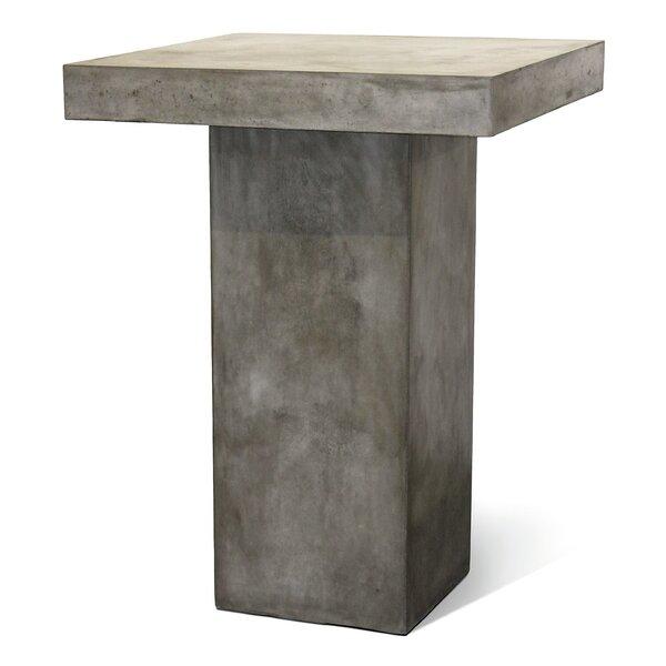 Perpetual Provence Concrete Bar Table by Seasonal Living