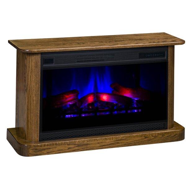 Ksawery LED Electric Fireplace By Latitude Run
