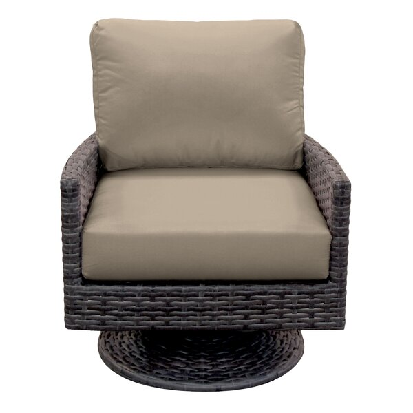 Macklin Glider Chair with Cushions by Ebern Designs