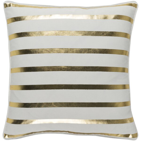 Draughn Cotton Throw Pillow by The Holiday Aisle