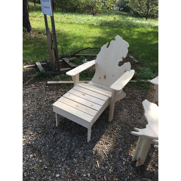 Elzy Wood Adirondack Chair by Highland Dunes Highland Dunes