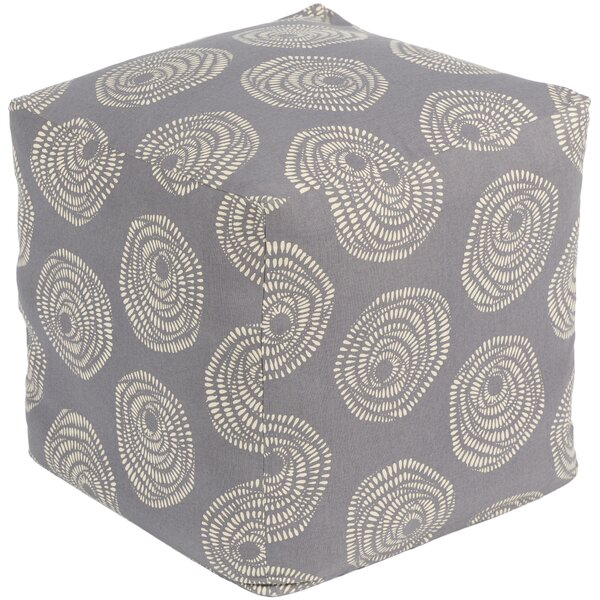 Bridport Butter Pouf by Ebern Designs