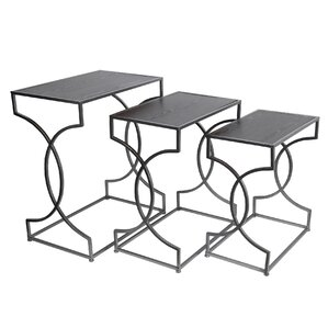 Ghislain 3 Piece Nesting Tables by Willa Arlo Interiors