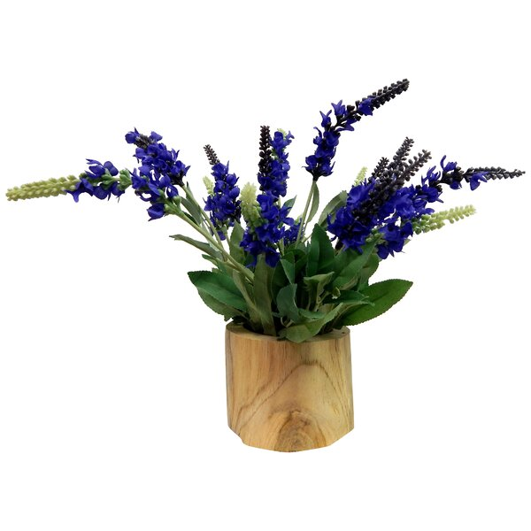 Lavender Floral Arrangement by August Grove