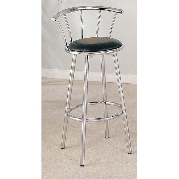 Albany 39 Swivel Bar Stool by Ivy Bronx