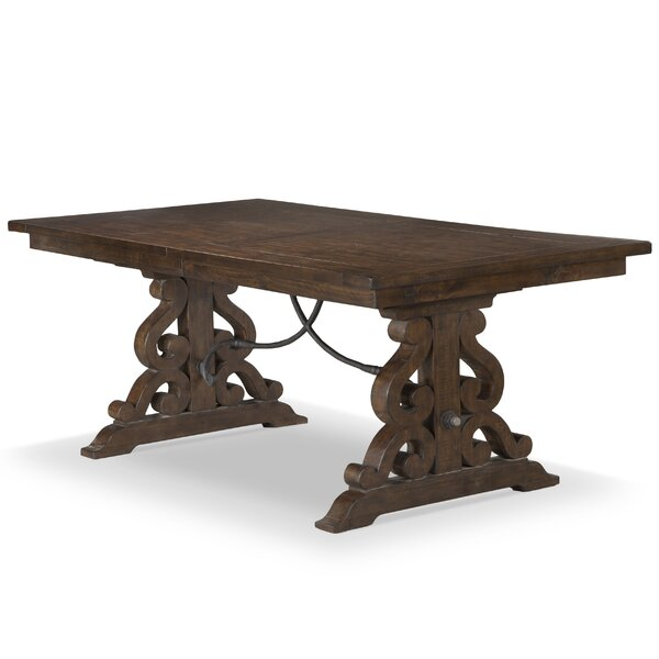 Shepard Solid Wood Dining Table by One Allium Way