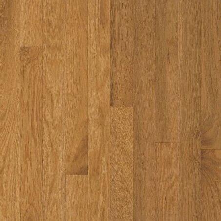Waltham 3-1/4 Solid Oak Hardwood Flooring in Cornsilk by Bruce Flooring