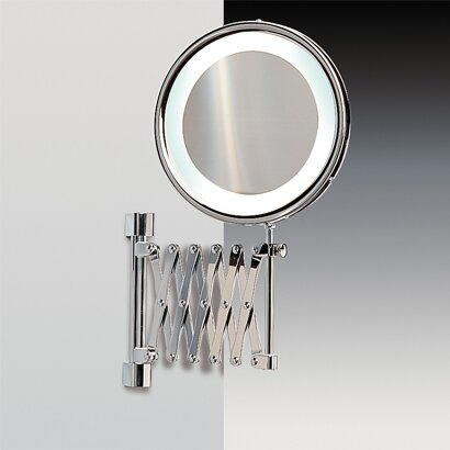 Wall Mounted Extendable Magnifying Mirror