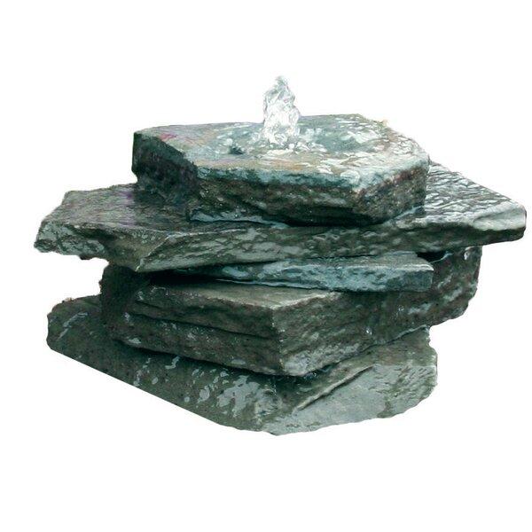 Natural Stone AquaRock Garden Fountain Kit by Aquascape