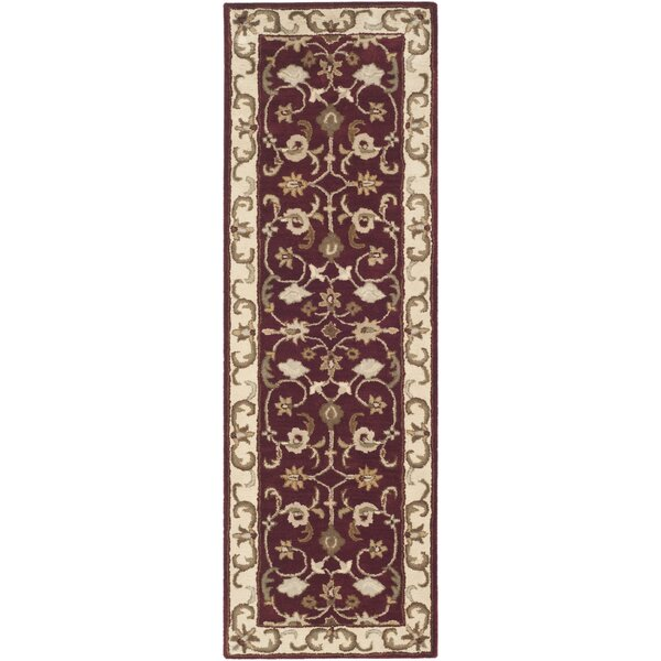 Royalty Red/Ivory Rug by Safavieh
