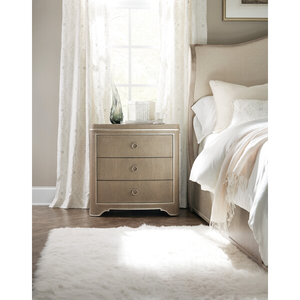 Romance 3 Drawer Nightstand by Hooker Furniture