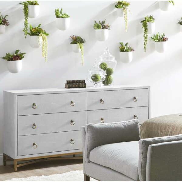 Ormside 6 Drawer Double Dresser by Gracie Oaks