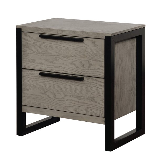 Daniell 2 Drawer Nightstand by Foundry Select