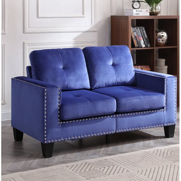 Caceres Loveseat by Wrought Studio