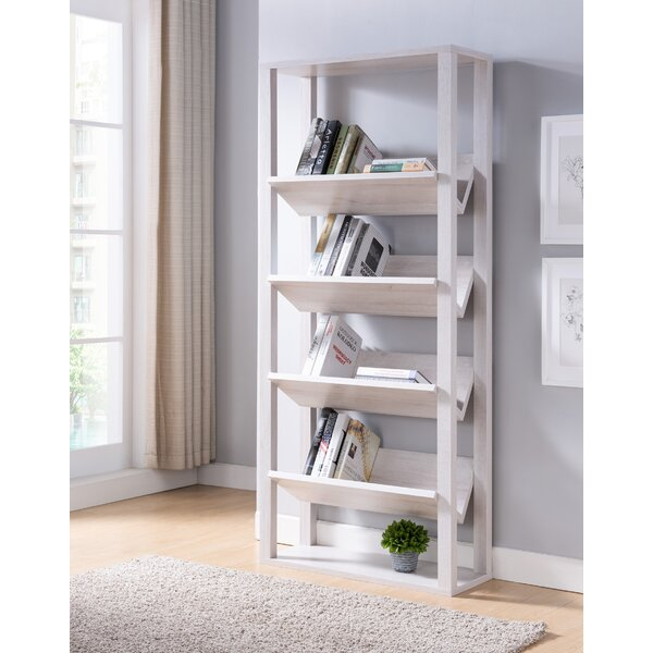 Gracie Oaks White Bookcases