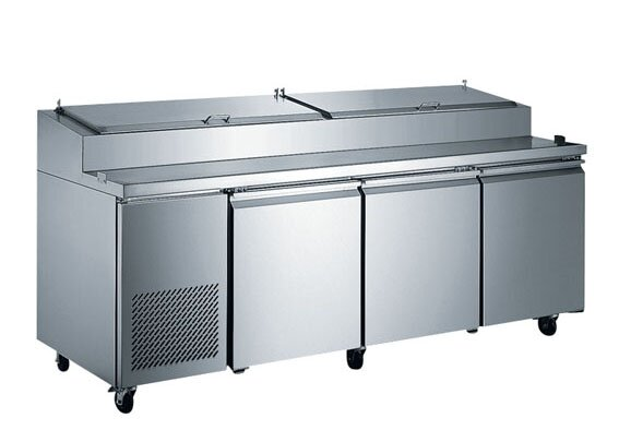 Commercial Pizza Prepare Table 24.2 cu. ft. Energy Star Counter Depth All-Refrigerator by EQ Kitchen Line