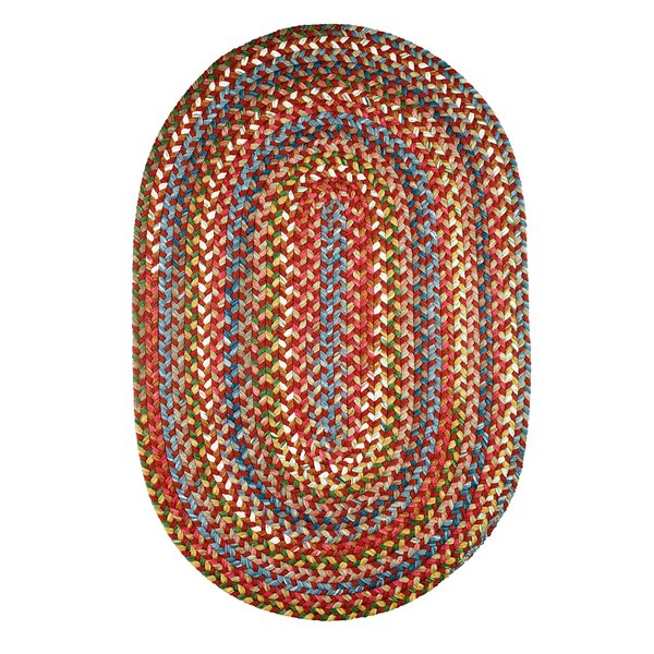 Handmade Tawny Port Indoor/Outdoor Area Rug by The Conestoga Trading Co.