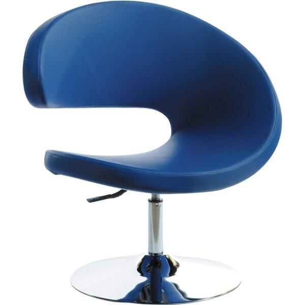 Belafonte Swivel Barrel Chair by Wade Logan