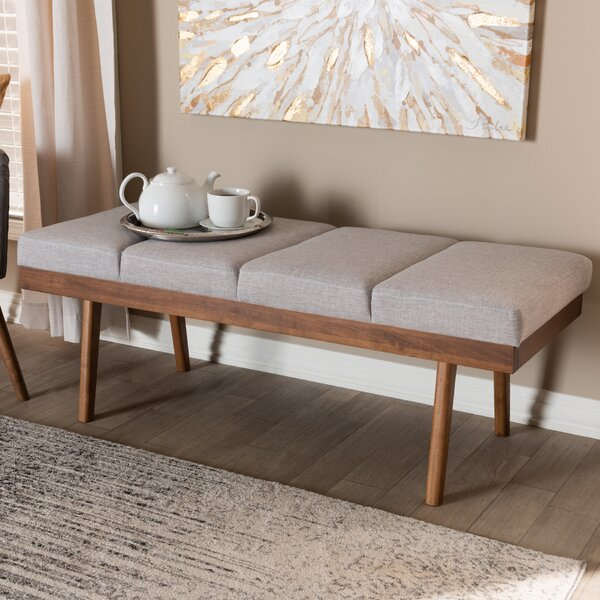 Borchardt Upholstered Bench by Corrigan Studio