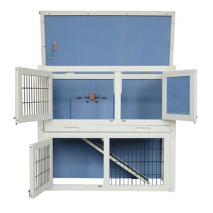 Wooden Hutch Small Chicken Coop