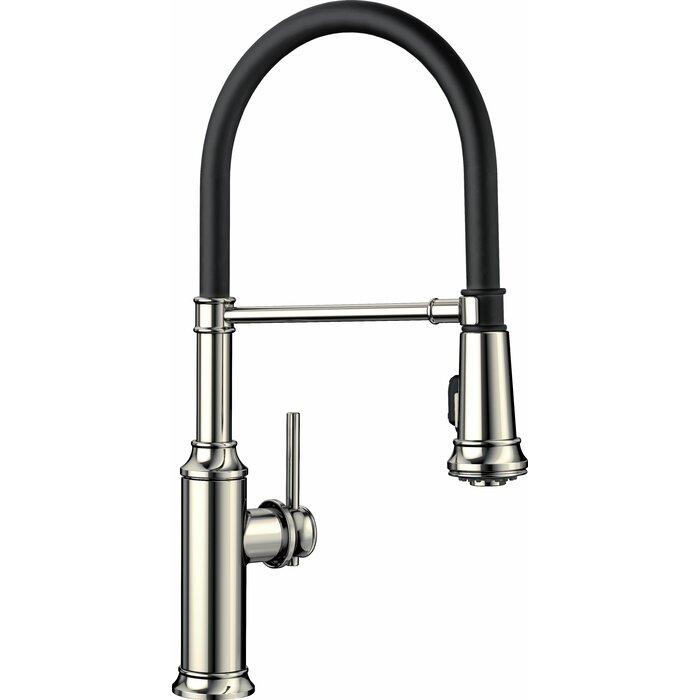Empressa Semi-Pro Pull-Down Single Handle Kitchen Faucet