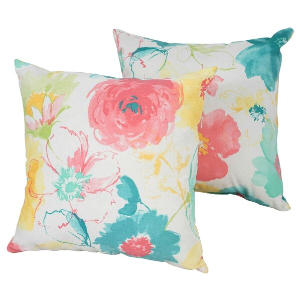 Designer Indoor/Outdoor Throw Pillow (Set of 2)