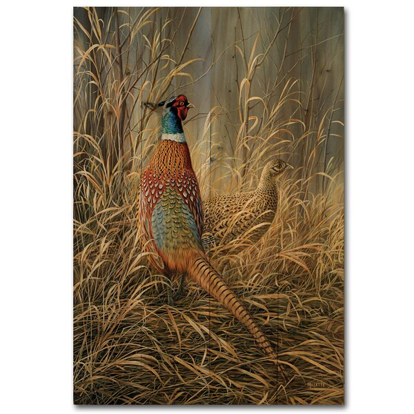 Late Season Solitude by Rosemary Millette Painting Print Plaque by WGI-GALLERY