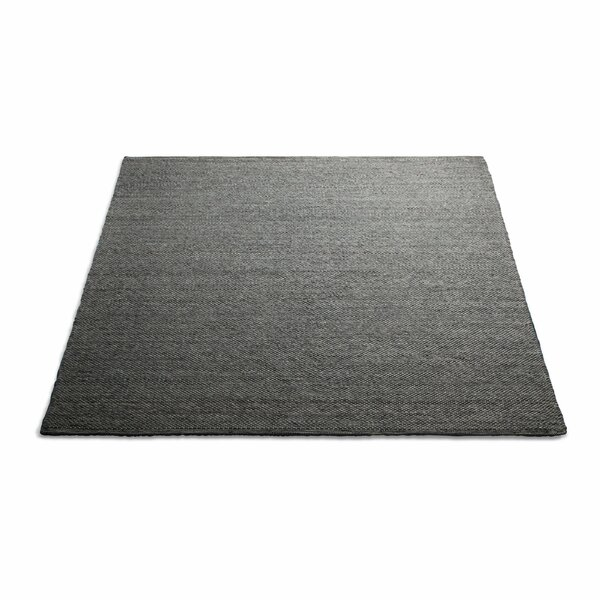 Sinder Hand-Woven Wool Charcoal Area Rug by Blu Dot