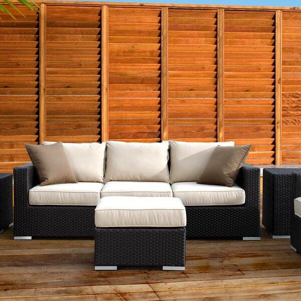 Aramingo Sofa with Cushion by Wrought Studio