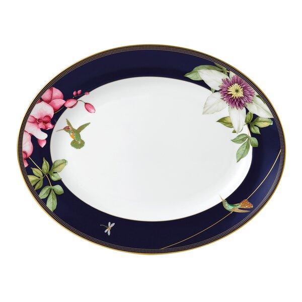 Hummingbird Bone China Platter by Wedgwood