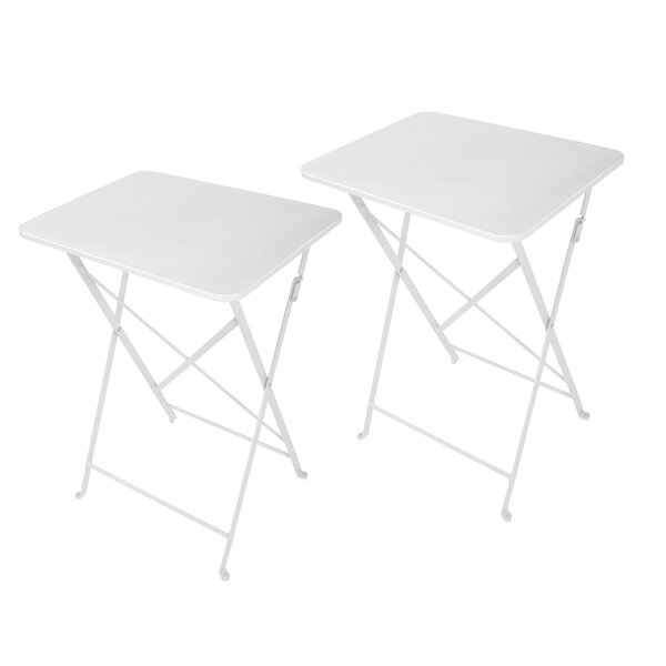 Yessenia Cafe Tray Table (Set of 2) by Ebern Designs