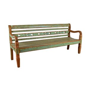 Halsted Wood Bench
