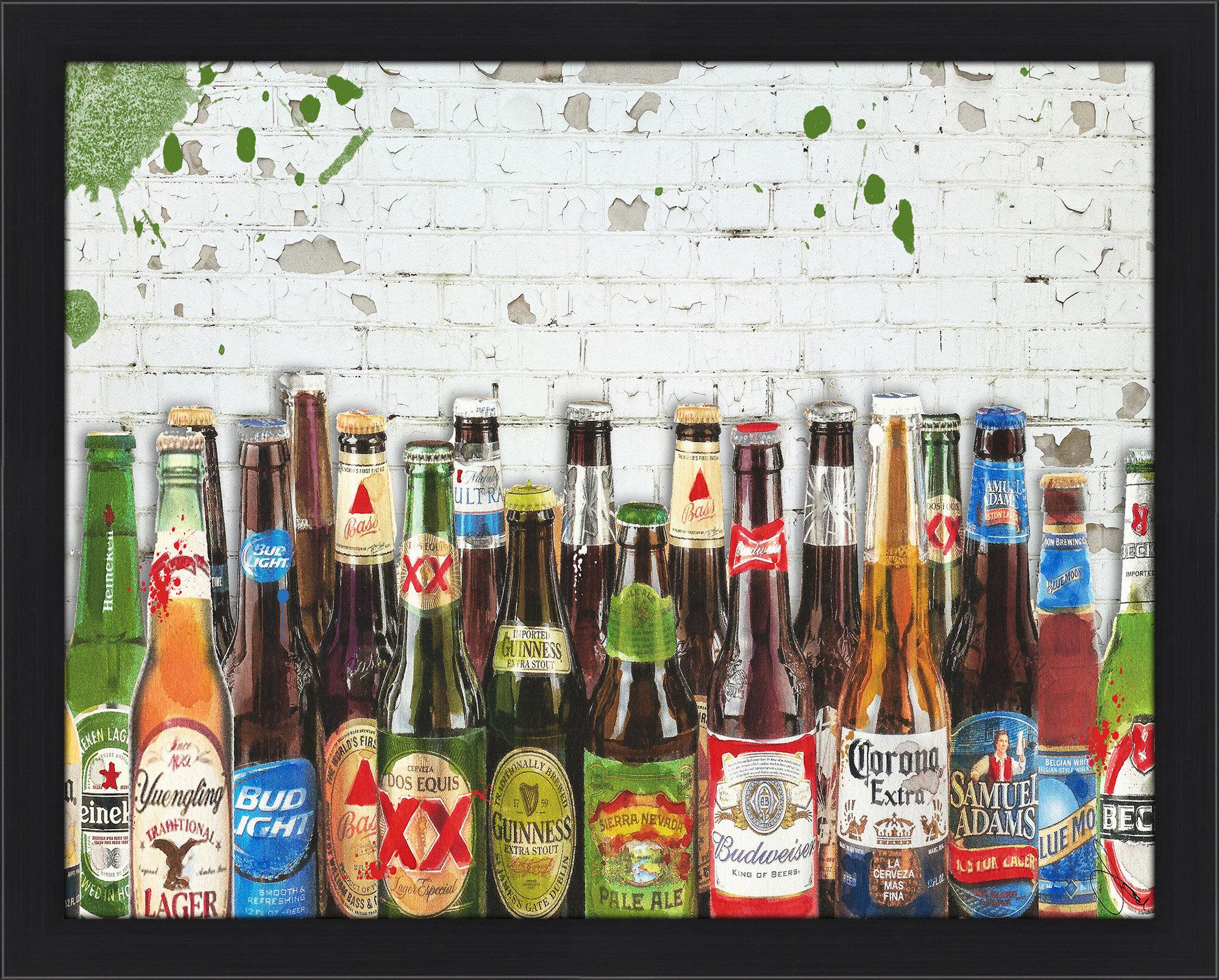 PicturePerfectInternational 99 Bottles Of Beer Graphic Art Print
