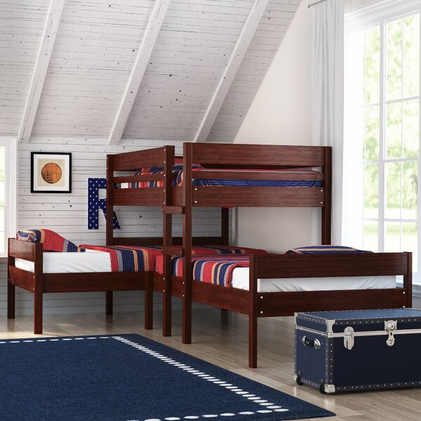 Duncan Twin Triple Bed by Harriet Bee